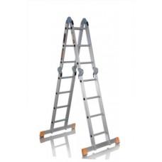 Лестница-трансформер четырехсекционная 4 ступени RIGGER