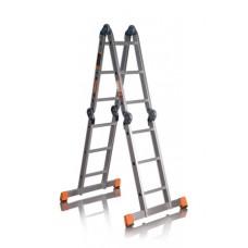Лестница-трансформер четырехсекционная 3 ступени RIGGER
