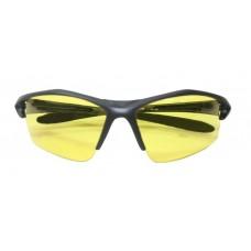 Очки защитные открытые, пласт. желтые