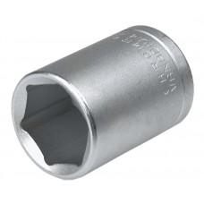 "Головка торцевая 1/2"" 18 мм, CrV, Topex"