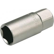 "Головка торцевая свечная 1/2"", 21 мм, CrV, Topex"