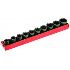 """Головки сменные ударные 1/2"""", 10-24 мм, набор 10 шт."""