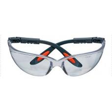 Очки защитные, белые, нейлоновые регулируемые дужки NEO