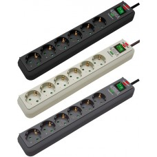 Сетевой фильтр Eco-Line 1,5м 6 розеток