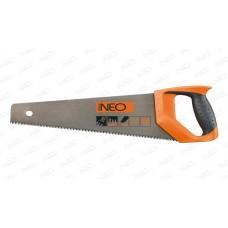 Ножовка по дереву 450 мм, 7TPI, PTFE, Neo