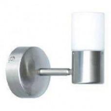 Светильник галогенный для ванной комнаты. G9, 40W,220V,  IP23, сталь, стекло.