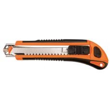 Нож с сегментным отламывающимся лезвием, 18мм, Topex