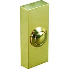 Кнопка звонка латунь с подсветкой